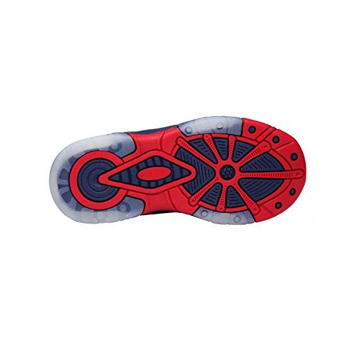 Spiderman , Jungen Sneaker mehrfarbig blau / rot