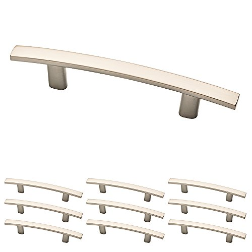 - Franklin Brass P35566K-SN-B Arched Bar Pull, 3