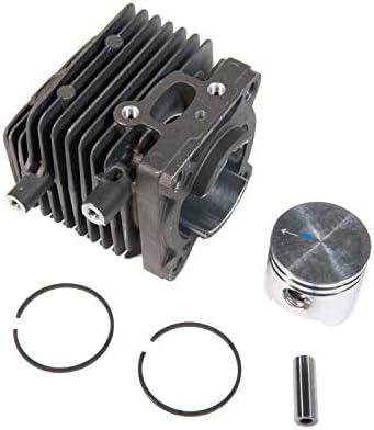 Cilindro Pistón 34 mm para desbrozadora Stihl FS75, FS80, FS85 y ...