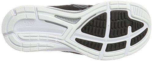 Carbon Gris Dynamis Black Zapatillas White Asics para Mujer de Entrenamiento F0wqRw