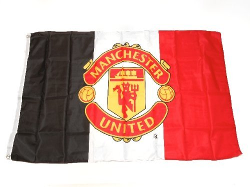 Manchester United Tricolor Flag -