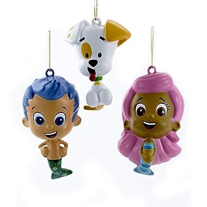 Kurt Adler Bubble Guppies Gil, Molly, And Bubble Puppy Blow Mold Ornaments - Amazon.com: Kurt Adler Bubble Guppies Gil, Molly, And Bubble Puppy