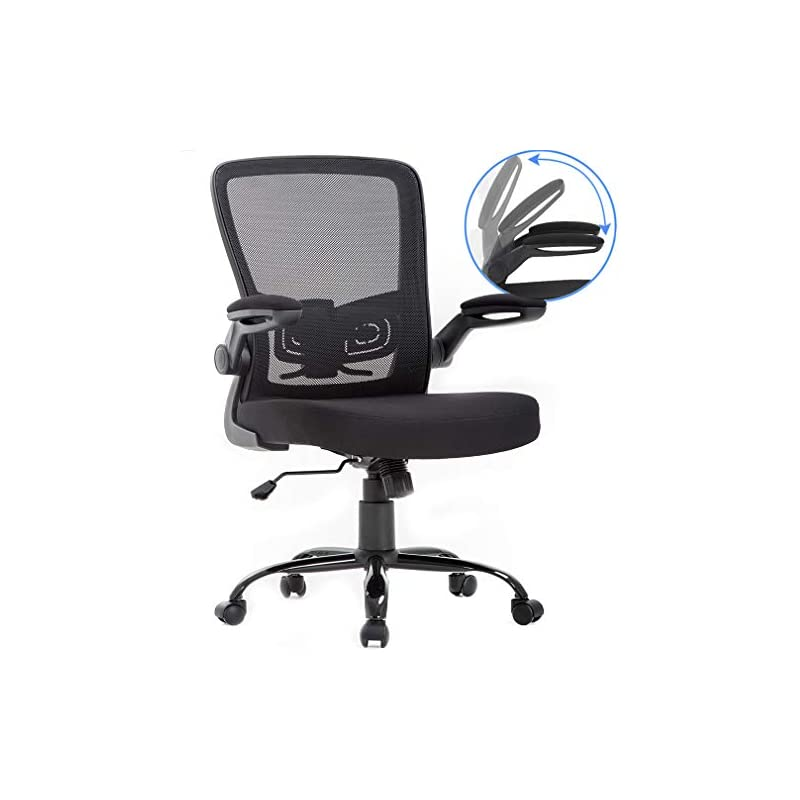 BestOffice Mid-Back 1 Pack Mesh Office C