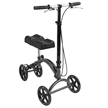 Amazon.com: Rodilla Scooter orientable W/Mango De Freno ...