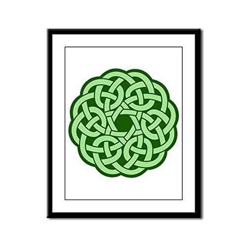 - Framed Panel Print Celtic Knot Wreath