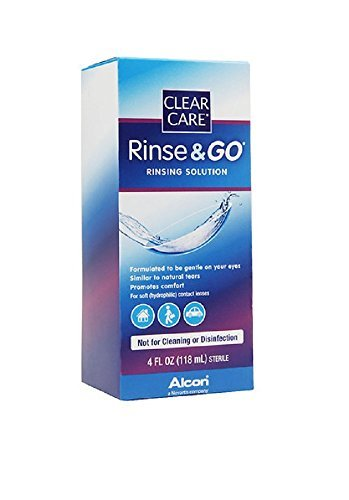 Clear Care Rinse & Go Rinsing Solution 4 oz. by Clear Care