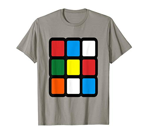 Rubik Cube costume Halloween Matching group Costume Idea ()