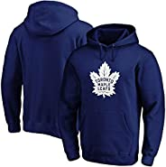Fanatics Men's Toronto Maple Leafs Official Logo Hoody (Blue) -