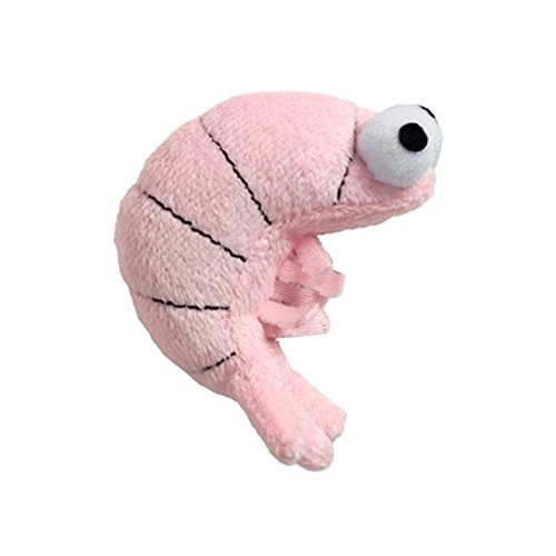 Doggles Cat Toy, Sushi Shrimp Pink