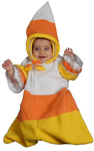 [Baby Candy Corn Bunting Infant Halloween Costume Size 12m] (Baby Corn Bunting Costumes)