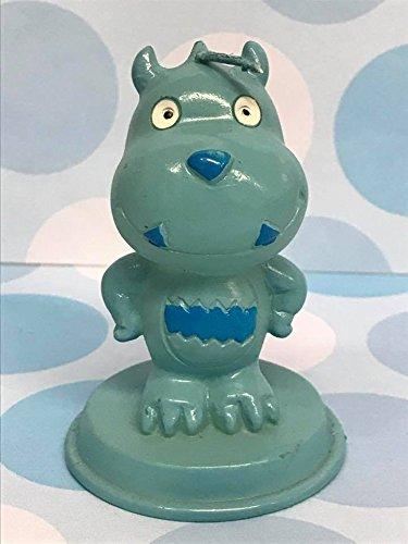 48 Monster Baby Shower Blue Boy Candle Favor in Box Favors Gift Keepsake Favor
