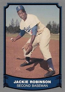 1988 Pacific Legends #40 Jackie Robinson Baseball Card