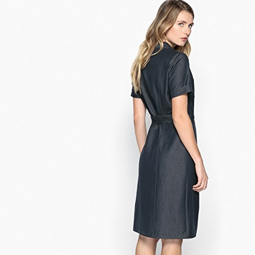 Kleid Redoute La Aus Frau Anne Komfortstretch Stone Blue Weyburn Ausgestelltes TdTXxPw