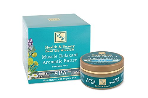 Health & Beauty H&b Dead Sea Muscle Relaxant Aromatic Butter