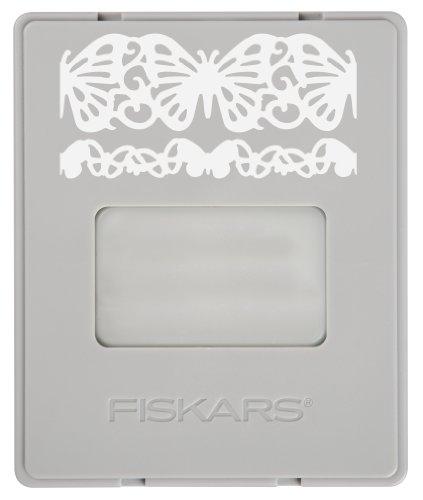 Fiskars AdvantEdge Butterfly Lace Border Punch Cartridge ()