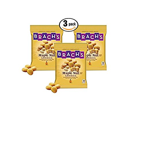 Brach's Maple Nut Goodies 7 oz ea (3 pack) (Toffee Soy)