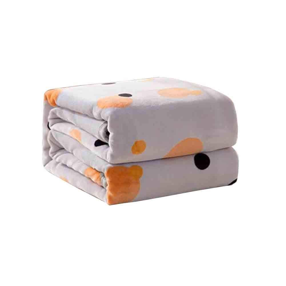 YCSD ダブルサイズ ソファーとベッドのための毛布を投げる、しわ防止、反フェード(200x230cm) (色 : 3, サイズ さいず : 200x230cm) B07MQLHM5P 3 200x230cm