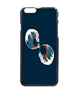 The Wave Is Forever Durable Hard Unique Case For iPhone 5 5S - Black Case