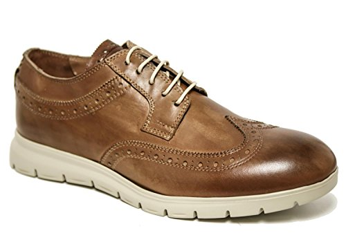 CafèNoir MRP113 Derby in Vitello Coda di Rondine 289 Tan