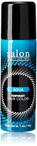 Salon on 5th Ave, NYC Temporary Hair Color Fun Shades, Aqua
