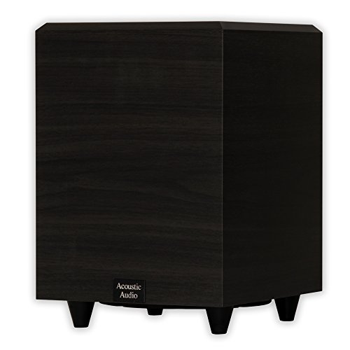 Active Down Subwoofer Firing (Acoustic Audio PSW8 Home Theater Powered 8