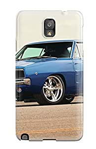 Cute Tpu Amy Morrison Dodge Charger 3 Case Cover For Galaxy Note 3