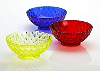 product image for Mosser Glass Elizabeth Style Fluted Fruit Bowl, 10.25 Inches - Rose