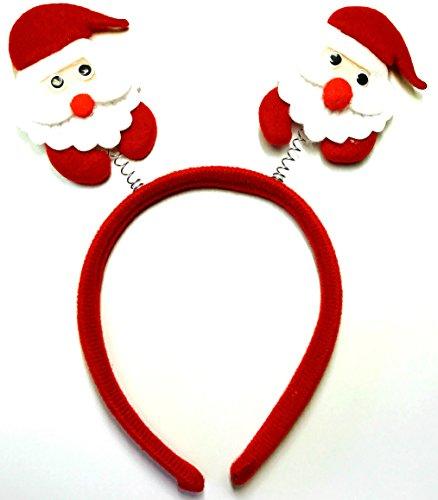 UNI -- Red Headband with Swinging