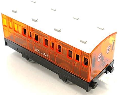 オリジナル プラレール トーマス 貨車&客車 クリアクララベル