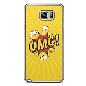 OMG Samsung Note 5 Transparent Edge Case - Comic Collection
