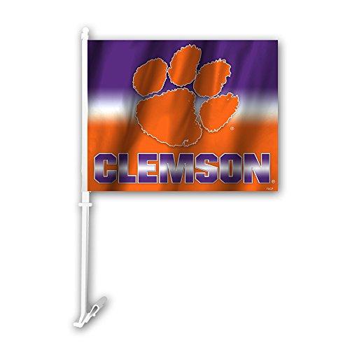 Fremont Die NCAA Clemson Tigers Car Flag, 11'' x 14'' by Fremont Die