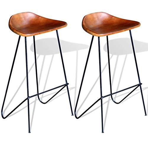 chaise de bar cuir veritable