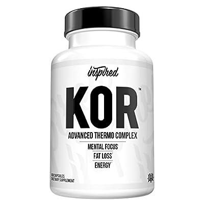 Inspired KOR   Super Thermogenic with Dynamine, Huperzine, Forskolin   60 Capsules
