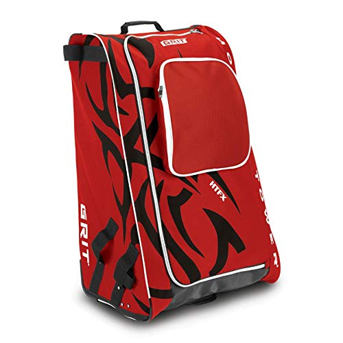 "Grit Inc HTFX Hockey Tower 33"" Wheeled Equipment Bag Red HTFX033-CH (Chicago) …"