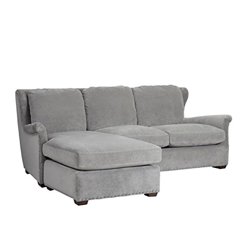 Beaumont Lane Upholstered Sofa Chaise With Ottoman