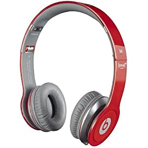 Monster Beats by Dr. Dre Solo - Auriculares HD con ControlTalk color rojo