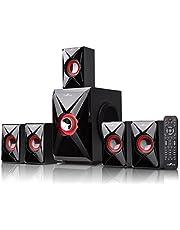 BEFREE SOUND bfs-420Bluetooth Sistema de Cine en casa, Color Rojo
