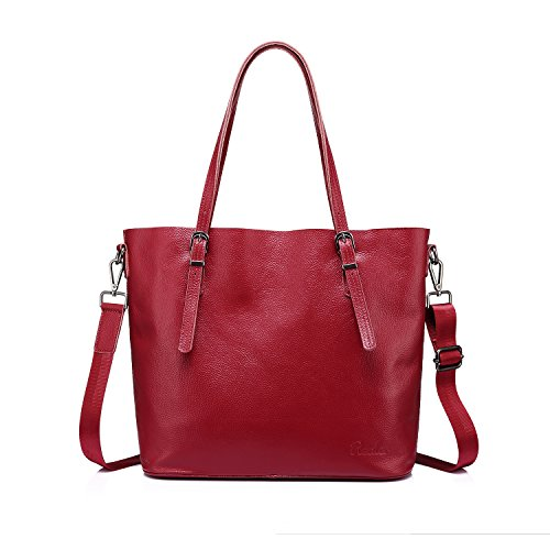 Tote It! Classic Everyday Tote (Red) - 8