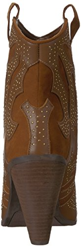 Toe Pointed Santana Fashion Sterling Bourbon Carlos Womens Carlos Ankle Bo Leather by qx0aRU