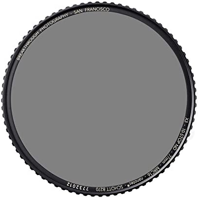 UltraSlim Schott B270 Glass MRC16 Breakthrough Photography 67mm X4 10-Stop Fixed ND Filter for Camera Lenses Neutral Density Professional Photography Filter WeatherSealed Nanotec