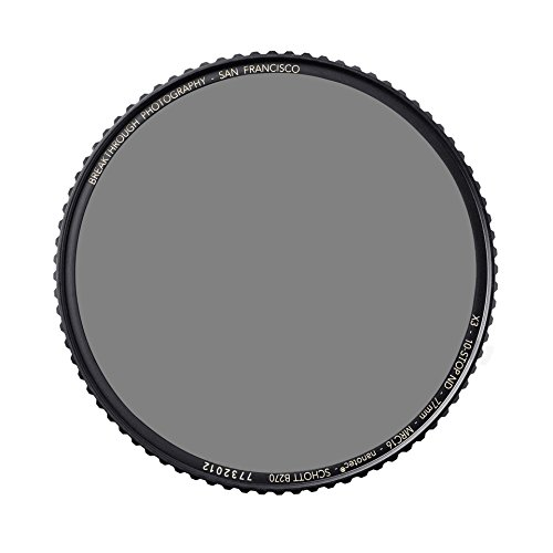 Breakthrough Photography 82mm X4 10-Stop ND Filter Camera Lenses, Neutral Density Professional Photography Filter Lens Cloth, MRC16, Schott B270 Glass, Nanotec, Ultra-Slim, Weather-Sealed by Breakthrough Photography (Image #8)