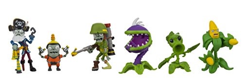 Plants vs. Zombies GW2 Action Figure (6 Pack), 2""