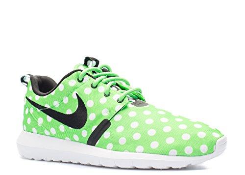 buy popular 96383 02d97 Galleon - Nike Roshe NM QS Polka Dot Mens  Shoes Green Strike Black-White  810857-300 (10 D(M) US)