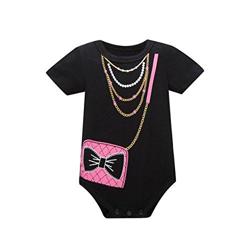 0189991195b5 Galleon - Huata Baby Boys Girls Short Sleeve Onesies Bodysuit Baby Romper  (6-12 Months