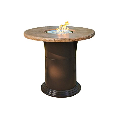 Outdoor Greatroom Colonial Pub Height Fire Pit Table, (Height Fire Pit Table)