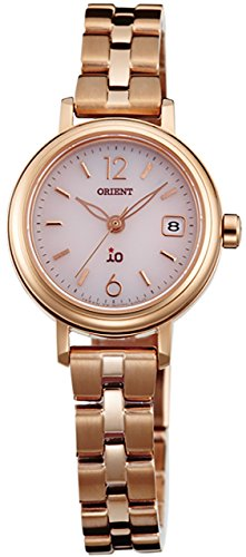 ORIENT Ladies Watch iO NATURAL & PLAIN Solar WI0011WG Pink WI0011WG
