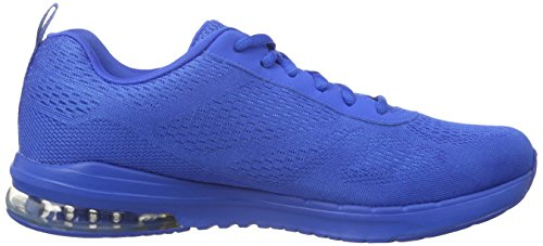 Skechers Damen Air Infinity Vivid Color Sneakers Blau (Blu)