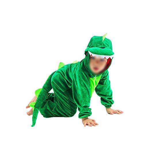Children's Animal Clothing Halloween Cosplay Jumpsuitstage Costumes,Dinosaur,100cm -