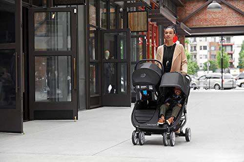 41VjwJ6HV3L - Baby Jogger City Mini 2 Double Stroller, Slate