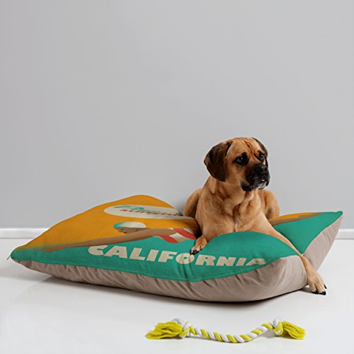 Deny Designs Anderson Design Group Dive California Pet Bed, 40 by 30-Inch